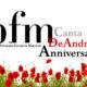 Locandina tournèe PFM canta De Andrè Anniversary