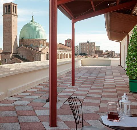 Terrace Casa al Carmine